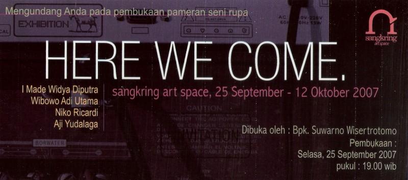 4. Pameran Here We Come