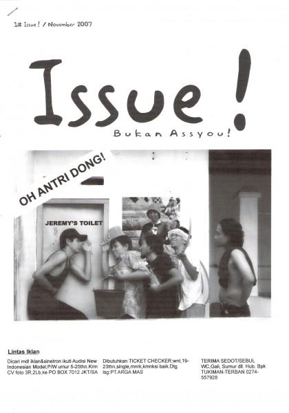 6. Pameran ISSUE