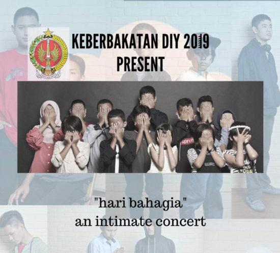 hari bahagia an intimate concert - keberbakatan diy 2019 - sangkring art