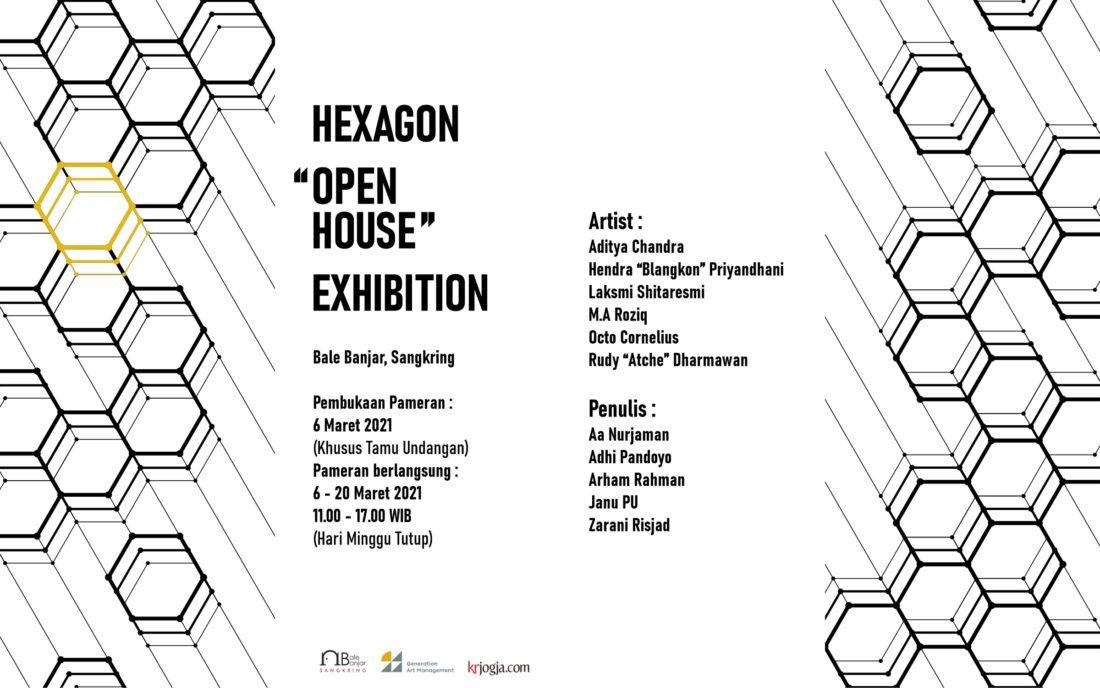 HEXAGON OPEN HOUSE EXHIBITION - Poster full
